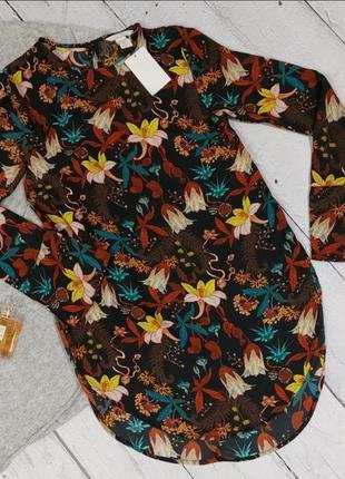 Удлиненная блузка, туника