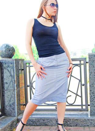 Стильная юбка миди от moonsoon, размер s-m ! / миди карандаш