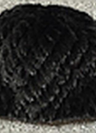 Меховая шапка из натуральной вязанной норки.3