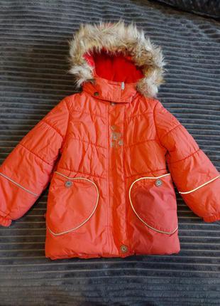 Зимова куртка lenne p. 98