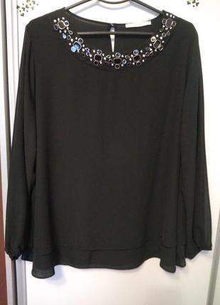 Нарядная блуза, размер 54-56