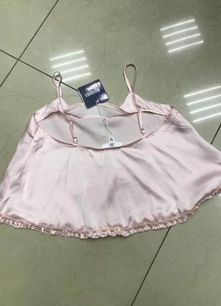 Срочная распродажа! нежный розовый пижамный топ блуза