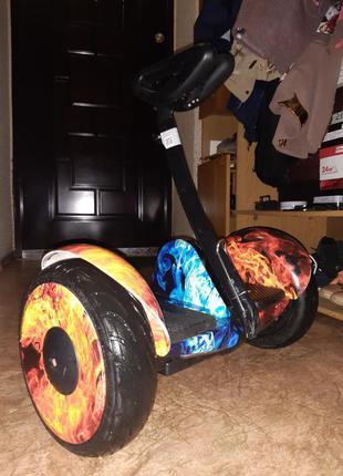 Segway xiaomi ninebot гироскутер огонь и лёд