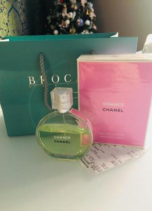 Chanel chance 😍оригинал‼️100ml