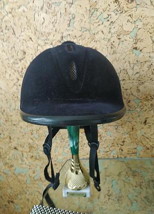 Шлем каска для верхової їзди конного спорту hkm