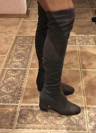 Шикарные ботфорты по стельке 26 см.