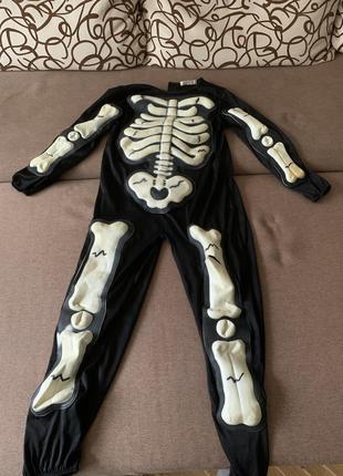 Дитячий костюм скелет