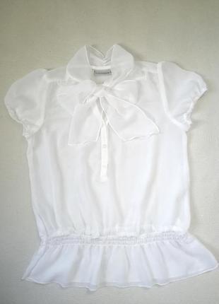 Блузка блуза кофта кофточка рубашка белая біла
