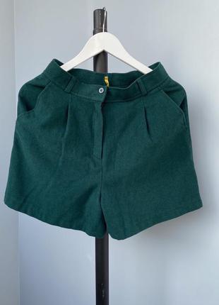 Шерстяные шорты италия