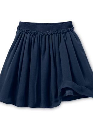Пышная юбка синяя размер 42-50 наш tchibo тсм