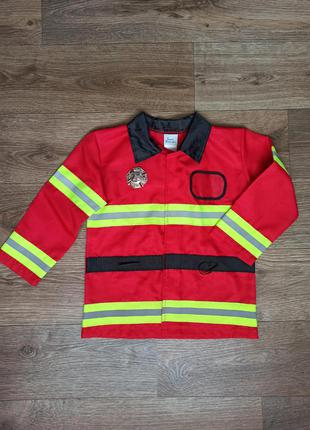 Костюм пожежника, картнавальный костюм пожарника