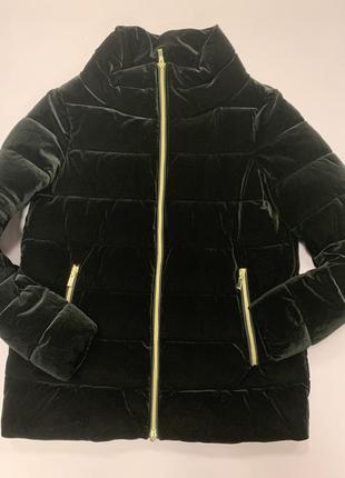 Велюровая куртка geox