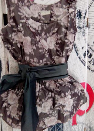 Женская брендовая блузка bialcon с цветочным принтом