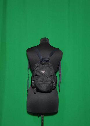 Оригинальный винтажный рюкзак prada milano