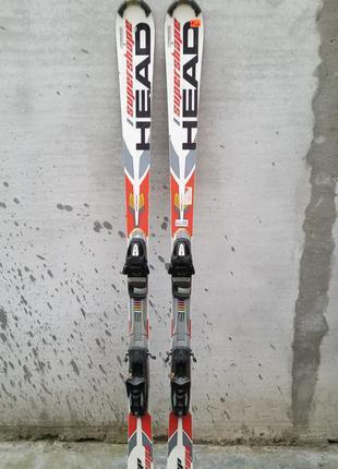 #10 класні лижі head брендові , горные лыжи 175см