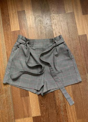 Стильные тёплые шорты на осень зиму bershka