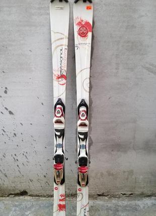 #12 офігенні гірські лижі rossignol  162см , горные лыжи