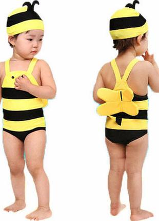 Купальник на малышку «пчёлка»