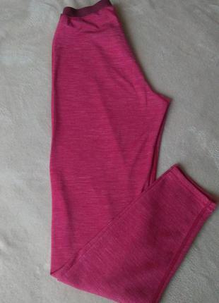 Термоштани odlo з мериносової шерсті термо легінси двухслойні термобілизна термобелье шерсть мериноса леггинсы штаны