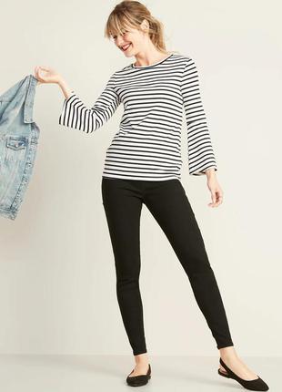 Облегающие черные джинсы old navy без застежки оригинал