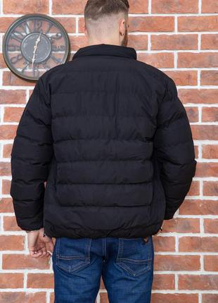 Дутая тёплая демми куртка для стильного мужчины xxl xxxl 4xl