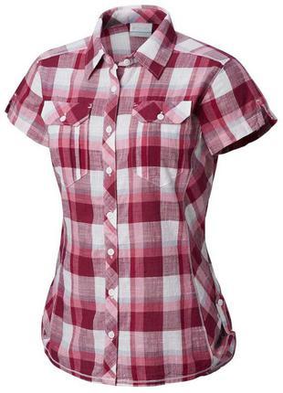 Трекинговая рубашка columbia camp henry ss shirt