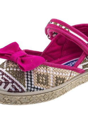 Текстильные туфли, балетки chicco, 26-27 размер