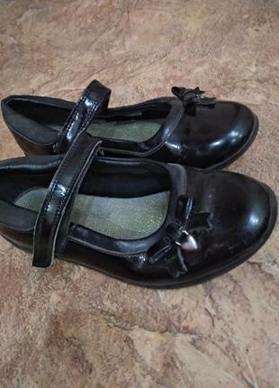 Туфли для девочки 20 см стелька