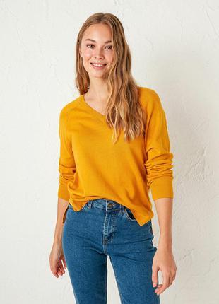 Яркий джемпер желтого цвета от турецкого бренда waikiki 🔝