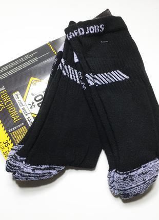 Сверхпрочные носки набор 2 пары функциональные махровая подошва the real work socks италия
