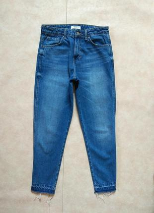 Крутые джинсы мом с высокой талией forever 21, s pазмер.
