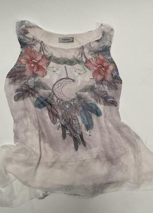 Today чудесная блуза с подкладкой (италия)
