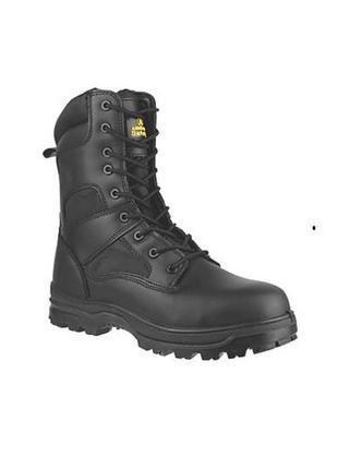 Кожаные демисезонные берцы ботинки от бренда amblers safety, р.38 код b3869
