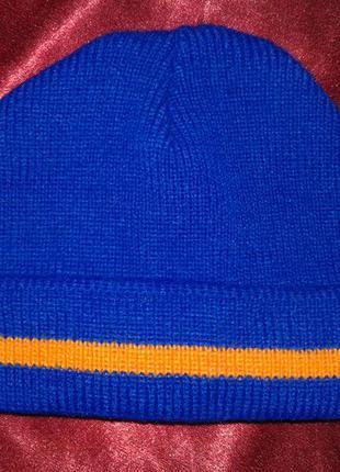 Зимняя шапка вязаная с бортиком  (#199) только продажа