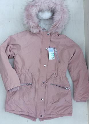 Бомбезна парка, куртка primark для дівчинки