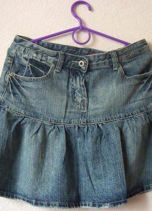 Юбка джинсовая 100% котон