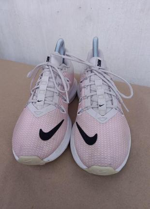 Nike runnig беговые кроссовки со свушем розовые