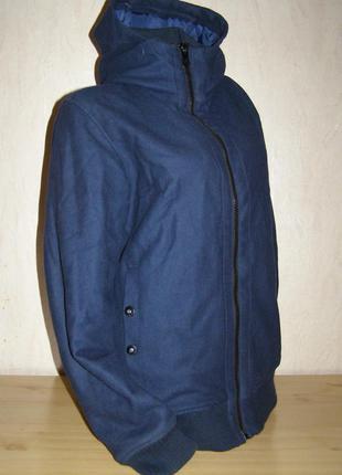 Теплая куртка/полупальто bench + капюшон, м, англия, оригинал