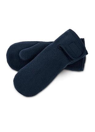 🔥 флисовые демисезонные рукавички, варежки 110/128
