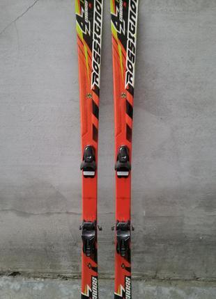 #16 лижі rossignol 4cross , лыжи 162см