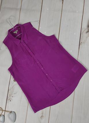 Блуза шелковая нежная guess l
