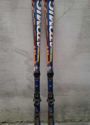#17 atomic горные лыжи , лижі 180см