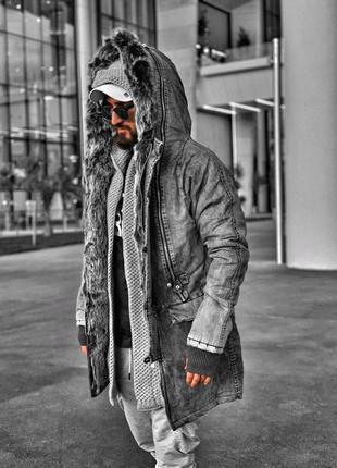 Парка куртка на меху