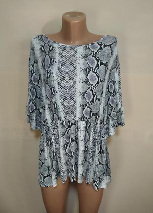 Блуза блузка змея кожа змеи черная белая интересная кофта