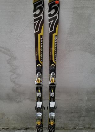 #18 лыжи dynami 163см