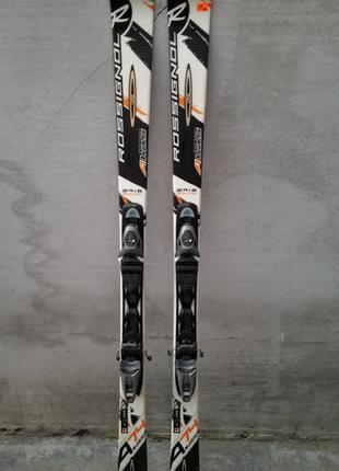 #19 класні фірмові лижі rossignol carbon 166см , лыжи
