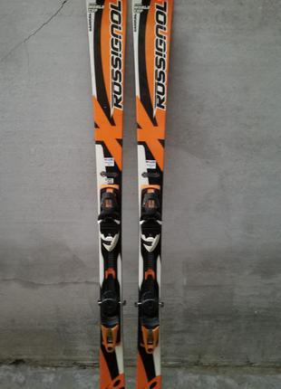 #20 лыжи rossignol world cup 165см, лижі