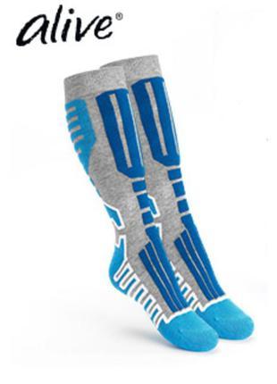 ❄️лыжные носки, подколенки alive германия