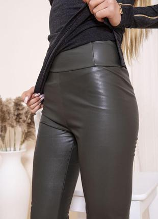 2 цвета хаки коричневый на флисе осень классные штаны -xs s m l xl