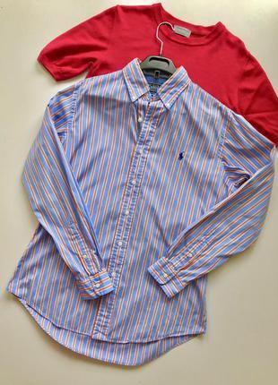 Рубашка из хлопка оригинал ralph lauren polo
